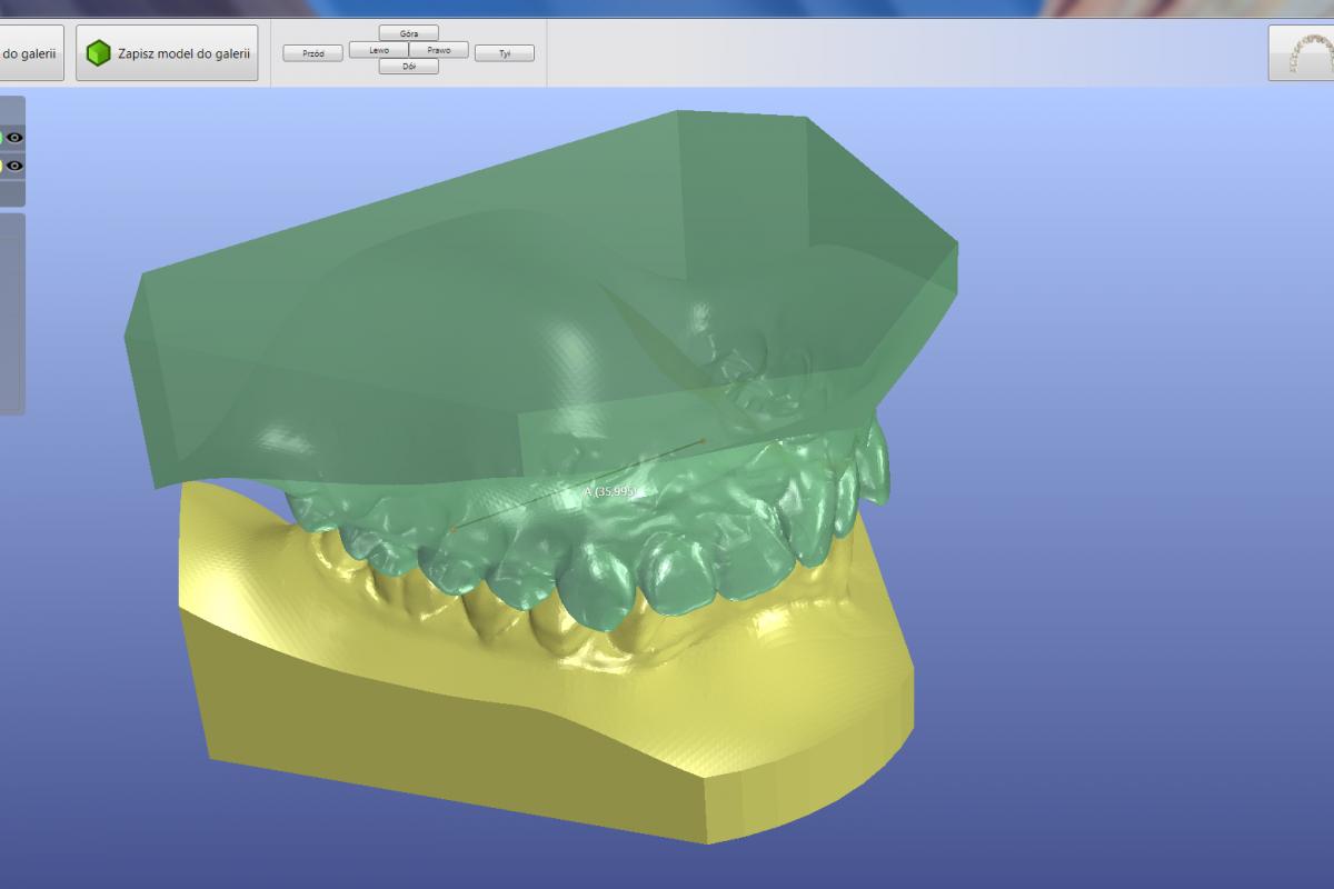 Podgląd par modeli 3D