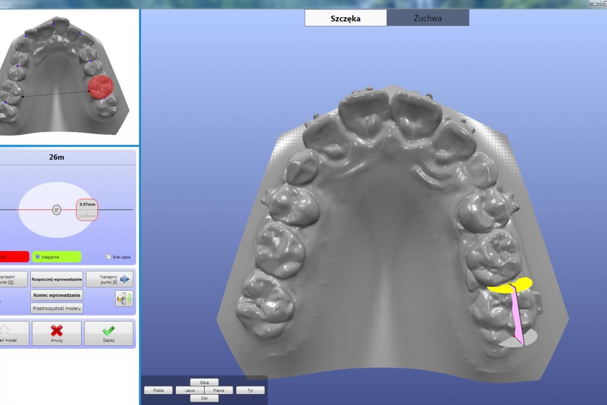 Analiza modeli 3D